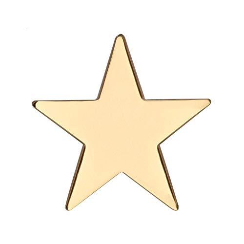 snazzyflags large gold star metal
