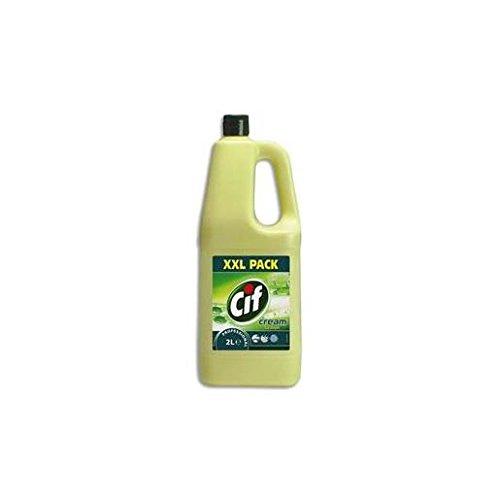 Cif Professionel - Crème nettoyante parfum Citron - 2L