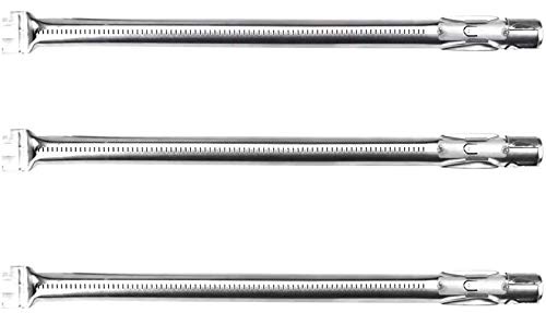 62752 3 Burner Tubes Set for Weber Genesis 300 Series (2011-2016) 19 1/2 inch, Genesis E310 E320 E330 S310 S320 S330 Stainless Steel Gas Grill Burner with Front Control Panel