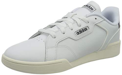 adidas ROGUERA J, Zapatillas Deportivas Unisex Adulto, FTWBLA/FTWBLA/Tinley, 39 1/3 EU