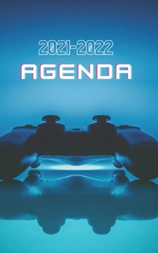 Agenda scolaire 2021-2022: Agenda scolaire gamer collège lycée étudiant pour planifier une année scolaire