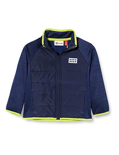 Lego Wear Jungen Lwsam Fleecejacke Jacke, Blau (Blue 565), (Herstellergröße: 92)
