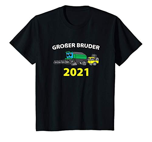 Kinder Großer Bruder 2021 Bauer Traktor...