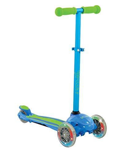 U-Move M004013 3 Wiel Scooter, Blauw/Groen