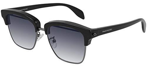 Occhiali da Sole Alexander McQueen AM0297S Black/Blue 54/17/150 uomo