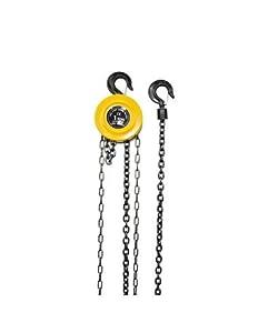 Polipasto Manual De Cadena 1000kg, 3 Metros De Altura De Elevación, Con Freno De Seguridad De Carga, Hecho Con Una Aleación De Acero Tratado Térmicamente