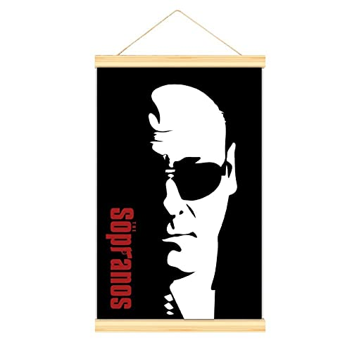 Tony Soprano Sunglasses living room modern art suspension poster hotel decorative mural Art classic poster12'×18'(30x45cm)