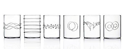 Ichendorf Milano , Linea Deco, Set 6 Bicchieri Acqua