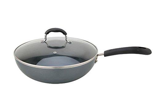 Mitu geen rookspecialiteit, wok, anti-aanbaklaag, voor inductiekookplaten en gasfornuizen