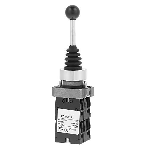 Interruptor de 4 posiciones, XD2PA14 Interruptor de palanca de mando con palanca de mando bloqueado 4NO