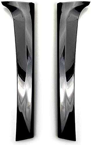 ACYCY Aleta del Alerón Lateral De La Ventana Trasera, Modificación De La Etiqueta Exterior para Sidfor Volkswagen Tiguan L Tiguan Mk2 2017+