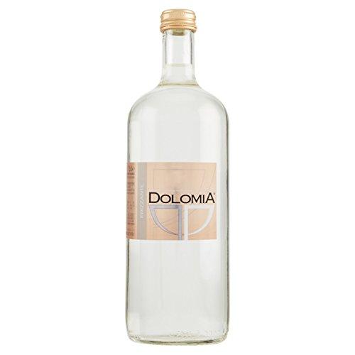 Acqua Dolomia Exclusive 0,75L Frizzante - confezione da 12 bottiglie - vetro a perdere