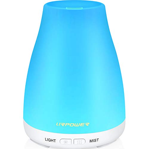 URPOWER 2nd Version Essential Oil Diffuser Aroma Essential Oil Cool Mist Humidifier...