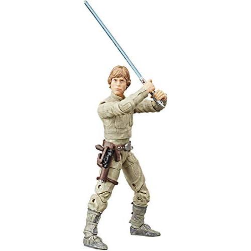 Star Wars Hasbro The Black Series - Luke Skywalker (Bespin) (Action Figure da Collezione da 15 cm Ispirato al Film L'Impero Colpisce Ancora - Edizione 40° Anniversario)