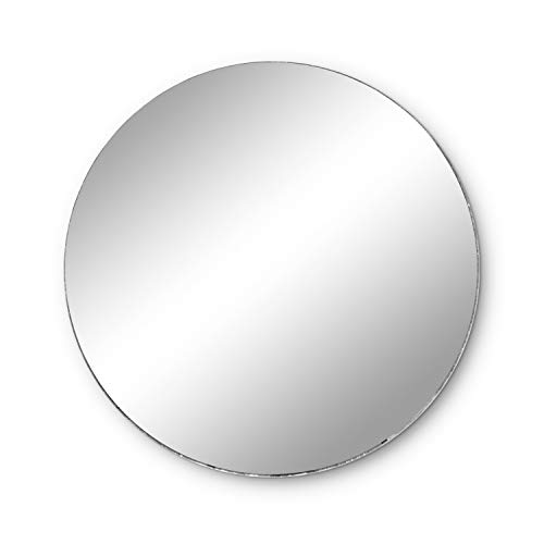 "Round Mirror Wedding Table Centerpieces, 10 Pieces, 12"" Inches"
