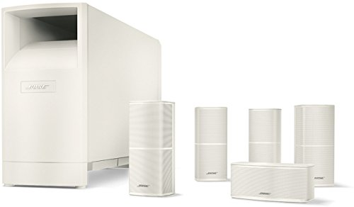 Bose® Acoustimass® 10 Series V - Equipo de Home Cinema 5.1, Blanco