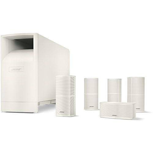 Bose® Sistema di diffusori home cinema Acoustimass® 10 Serie V, Bianco