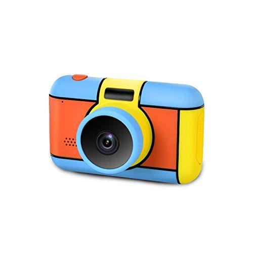 L&B-MR 2800W Cámara Digital para Niños Flash Selfie Cámara Recargable Juguete Grabadora De Pantalla HD De 2,4 Pulgadas Regalo para Niños Niños Niñas