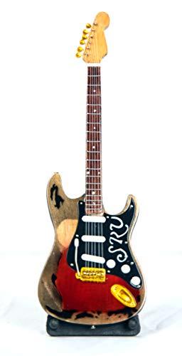 "Guitarra en miniatura – Guitarra decorativa – Guitar Fender ""stratocaster"" – 24 cm rojo #202"