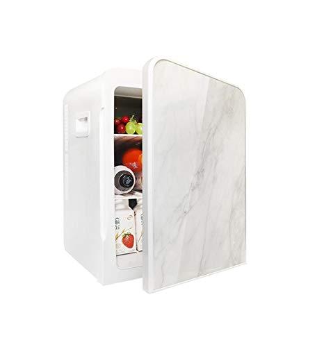 NGLQWA Dos Estilos Refrigerador De CosméTicos PortáTil Frigorífico Mini Frigorífico Frío Y Calor para Coche Caravana Casa Oficina Y Dormir (Size : Mini Fridge-22L)