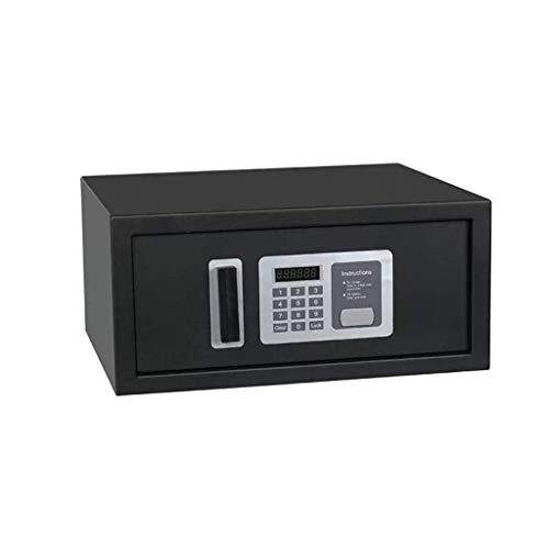 Boxen Veranstalter Schlüsseltresor Diebstahlsicherung Digitale Elektronische Stahlkonstruktion Tresor für Hausratversicherungen Closet Safe Schwarz 400 * 360 * 200mm