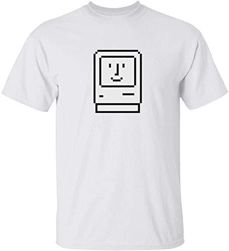 Happy, Mac, Icon, Apple, Computer Techie, Geek, OS Mens T Shirt