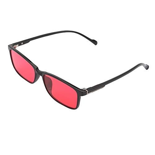 ARLT Korrektur Frauen Männer Farbe Schwäche Gläser Farbe Blind Sonnenbrille Colorblind Fahrer Eyewear (Lenses Color : Full Frame)