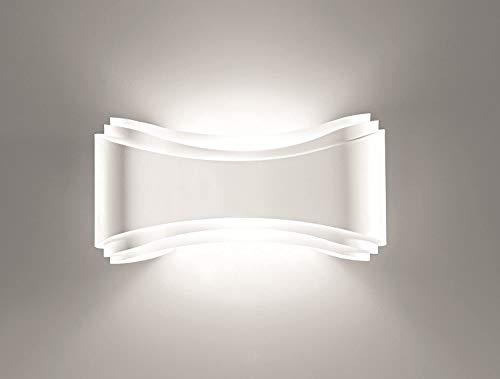 Selene illuminazione Ionica Wandleuchte 80 W, weiß