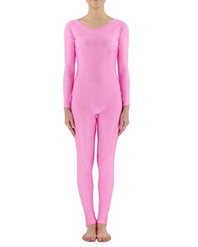 Gladiolus Ganzkörperanzug Anzug Suit Kostüm Ganzkoerper Anzug Fasching Karneval Kostuem Pink Rot S