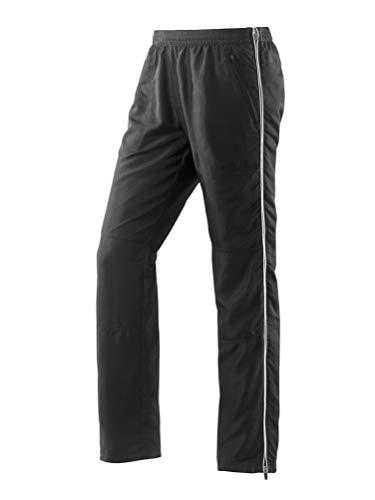 Michaelax Fashion-Trade Joy Sportswear Pantalon de sport pour homme avec fermeture éclair latérale pour les loisirs, le sport et la gym - Noir - 26