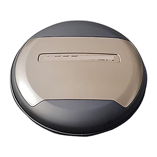 NHLXJQ Copertura Protettiva per Ruota di Scorta Posteriore in Pelle per Auto, Guscio in ABS, per La-nd Ro-Ver De-FEN-der 110...