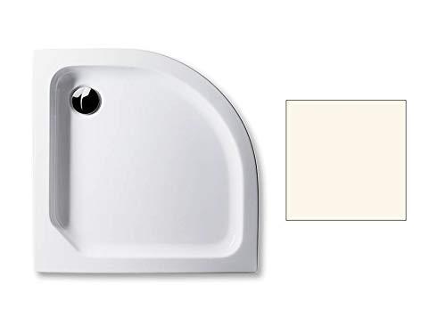 Acryl Duschwanne 90 x 90 cm Radius 55 Farbe: PERGAMON flach 6,5 cm Viertelkreis Dusche/Duschtasse/Brausewanne