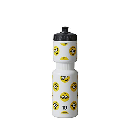 Wilson Minions Waterbottle, NS, Bianco
