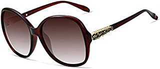 Round Polarized with Diamond Sunglasses for Women