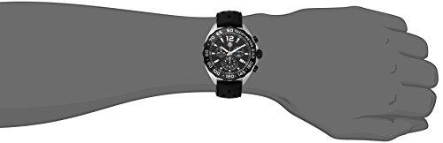 Tag Heuer Formula 1 Homme 42mm Bracelet Caoutchouc Noir Boitier Titane Quartz Montre CAZ1110.FT8023