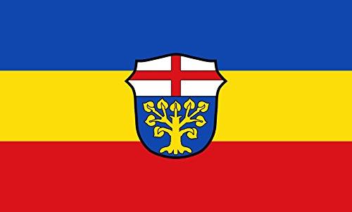 Unbekannt magFlags Tisch-Fahne/Tisch-Flagge: Böbing 15x25cm inkl. Tisch-Ständer
