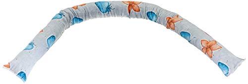 Mongardi 6044C99 Paraspiffero Per Porte E Finestre, Paravento Sottoporta Isolante Contro Il Freddo, Colori Assortiti, 120 Cm