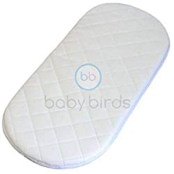 Genuine Baby Birds Mattress made for a Silver Cross Wayfarer or Pioneer Pram The perfect addition or replacement for your Silver Cross Wayfarer or Pioneer Cot. Removable mattress cover / protector for hand washing Suitable for overnight sleeping. Pad...