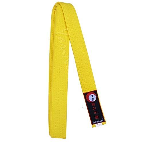 Cinturón Amarillo para Karate y Judo | Todas Las Medidas