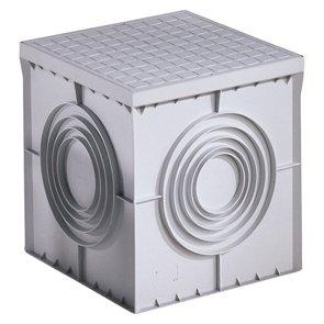 Gewiss DX59401 - arquetas (200 mm, 200 mm, 200 mm) Gris