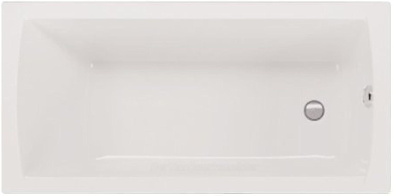 Badewanne Aquaria 170 wei Rechteck Wanne Acryl 1700 750 420 mm