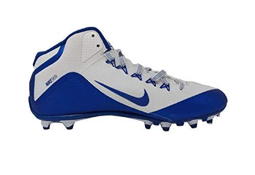 Nike Alpha Pro 2 3/4 TD PF Football Cleats (11 M US, White/Royal)