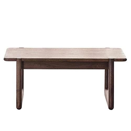Vobajf Tavolino da caffè Tatami Tavolo di Legno Solido Piccola Tea Table Giapponese Tabella di tè Semplice Quadrato Tavolo Basso (Colore : Marrone, Size : 50x33x40cm)