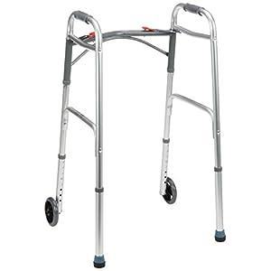 Plegable ligero Andador con ruedas andador: Amazon.es: Salud ...