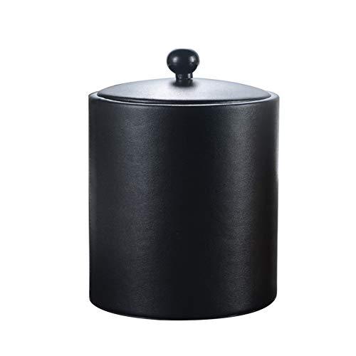 Daoyuan Cubo De Hielo con Tapa Y Pinzas, Sin Fugas De Vino Refrigerador Aislado De Hielo Bandejas De Cubitos De Radiador Refrigerador De Vino Barra del Partido De Camping Barbacoas-14X19cm