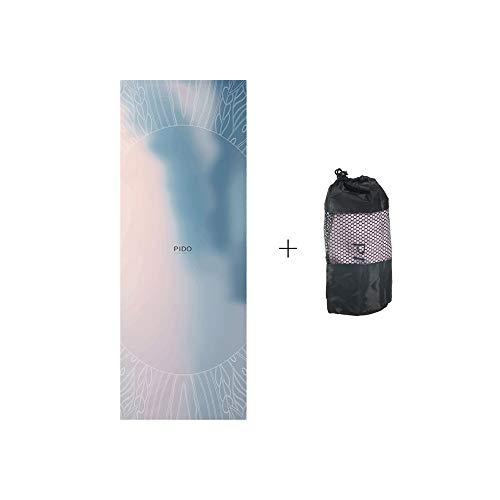 Pido Toalla de yoga caliente versión actualizada exclusivo bolsillo de esquina respetuoso con el medio toalla de microfibra para yoga caliente Bikram Ashtanga y Pilates bolsa de transporte gratis
