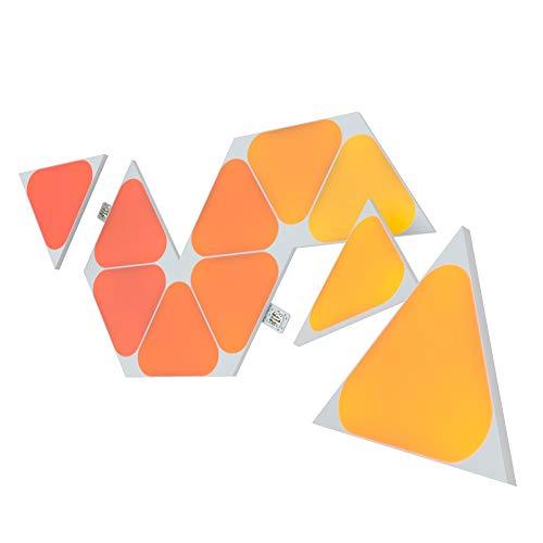 Nanoleaf Shapes Mini Triangle ライトパネル拡張キット(10パネル)