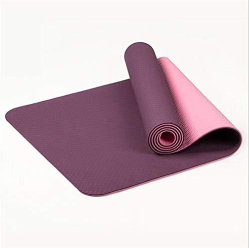 ZHANGFL Antiscivolo Yoga Mat, TPE Sport Yoga GymMat, Fitness Pilates Ginnastica Camping Colchonete Pad 183 * 61 * 6 (cm) (Color : 3)