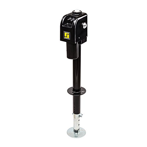 Stromberg Carlson JET-3755 Black 3500 lb. Electric Tongue Jack with Light