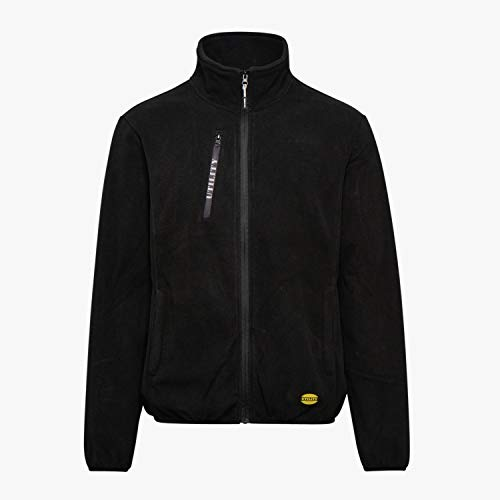 Diadora PZ Sweat et t-Shirt en Microfibre Motif Rayures Noir